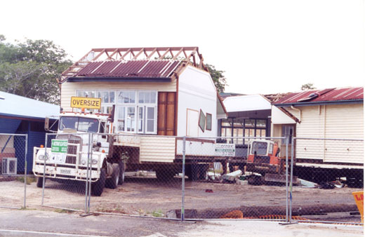 2001 - K Block was one of the original buildings on the current site and was removed to make way for the current building